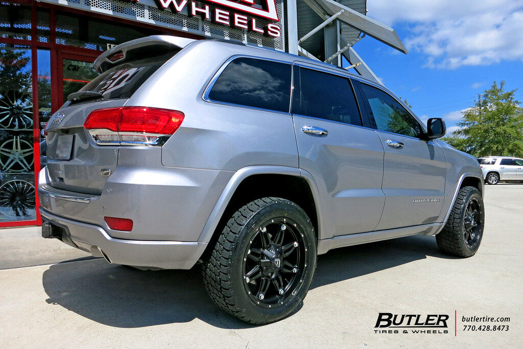 Jeep Grand Cherokee With 20in Fuel Hostage Wheels And Nitt