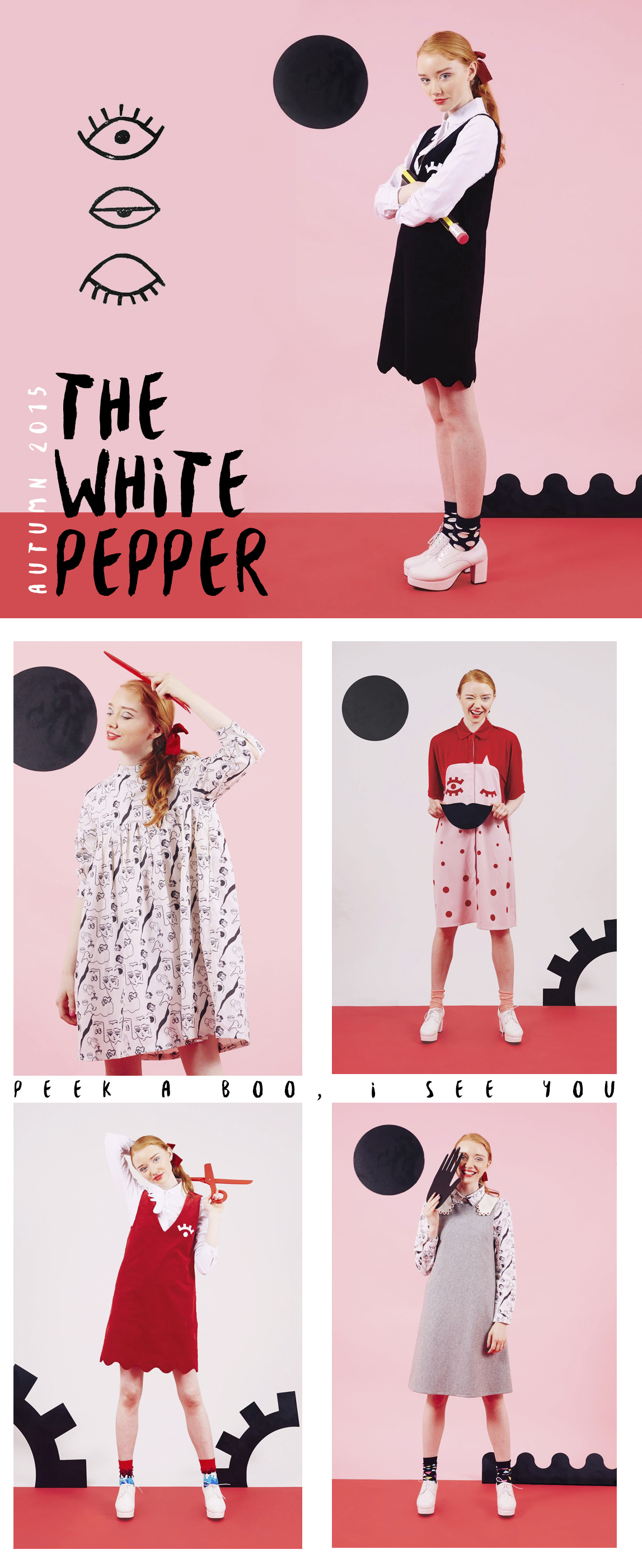 The White Pepper x Sarah Fisk Autumn 2015 Collection