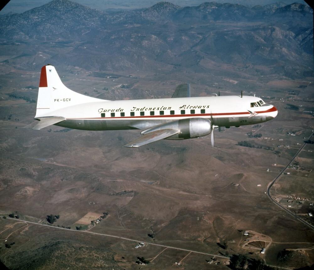 Convair 440 Metroplitan PK-GCV Garuda AL copy 15-10306 ...