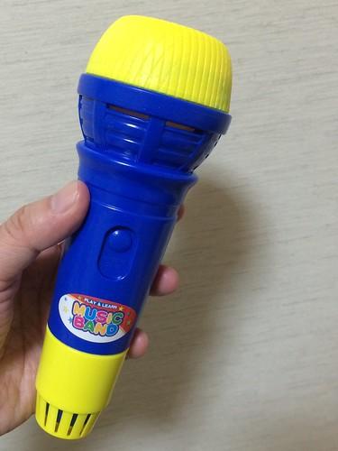 エコー マイク おもちゃ 100円ショップ