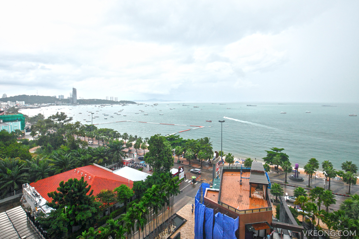 Pattaya City and Beach View