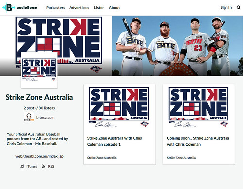 Baseball fans, have a listen to Strike Zone Australia with @CJCau @StrikeZoneAU @ABL @audioBoom @itswoztime