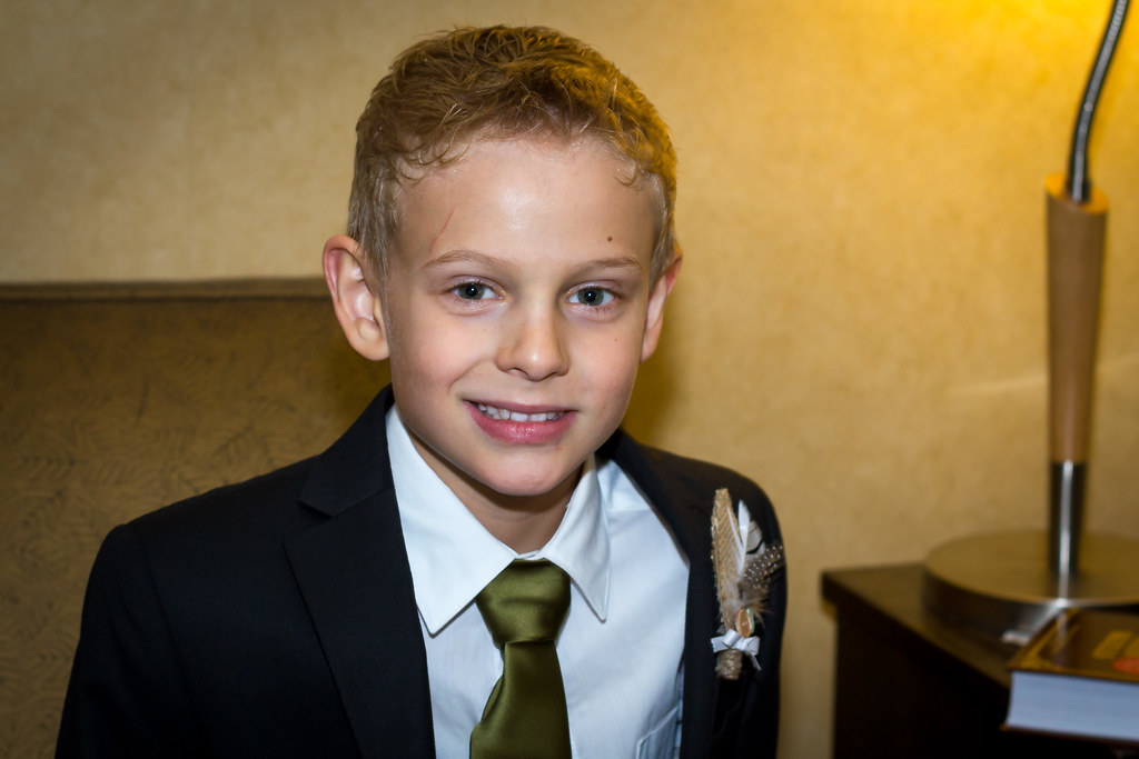 Ringbearer Jeff And Julie S Wedding At The Delta Lodge At Flickr