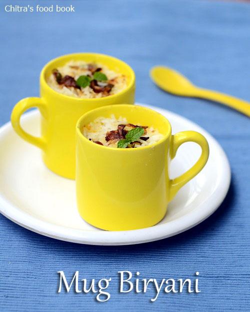 Mug biryani recipe