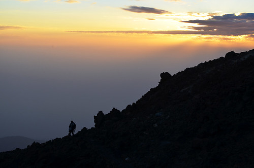 Mount Teide at Sunset, Tenerife