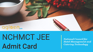 NCHMCT JEE Admit Card 2016 / Hall Ticket - Download Here
