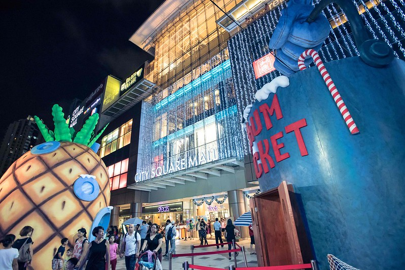 First-ever Outdoor SpongeBob Playland at City Square Mall - Alvinology