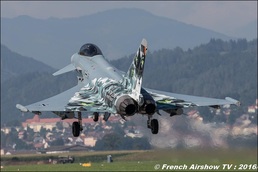 Eurofighter Tyhoon tiger , airpower zeltweg 2016 , AIRPOWER16 - Österreichs Airshow , Steiermark , Austria, Canon Reflex , EOS System