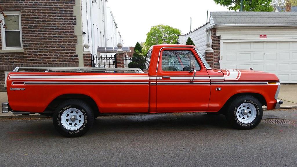 orange  ford  explorer pick  truck joe shlabotnik flickr