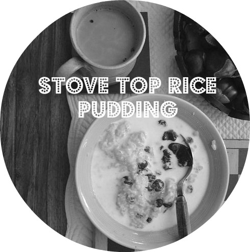 stove top rice pudding