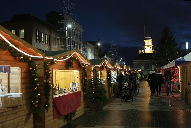 Stockton Sparkles Christmas Market 2015