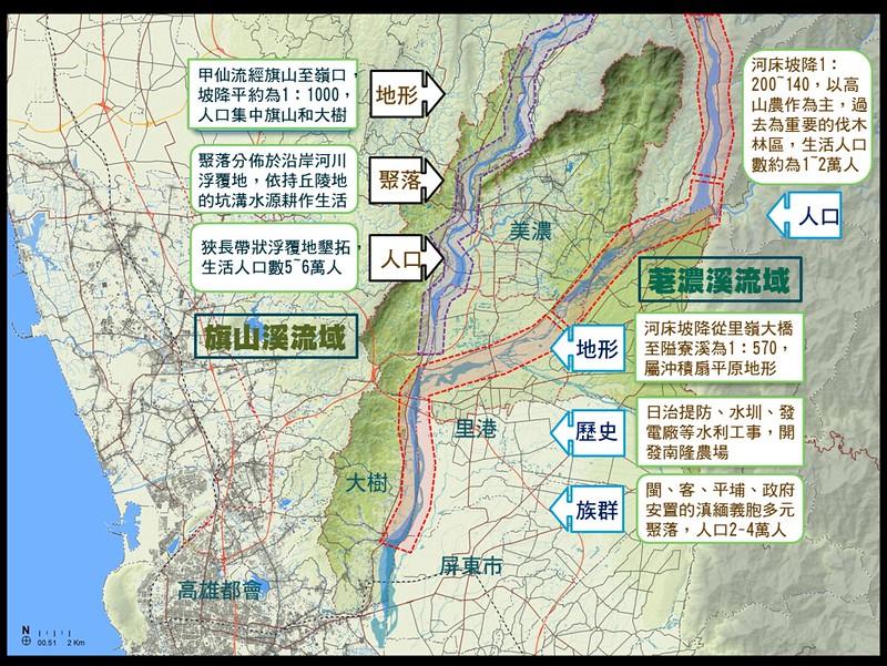 滇緬安置村具有優良的水資源保育社區條件。美濃農村田野學會提供