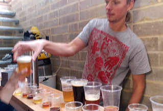 Homebrew sampling at Leyton Studios
