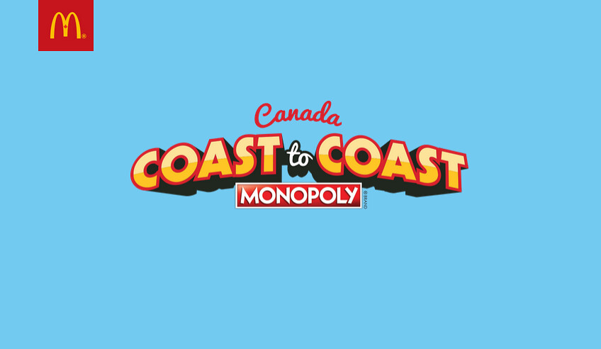 Mcdonalds coast to coast monopoly