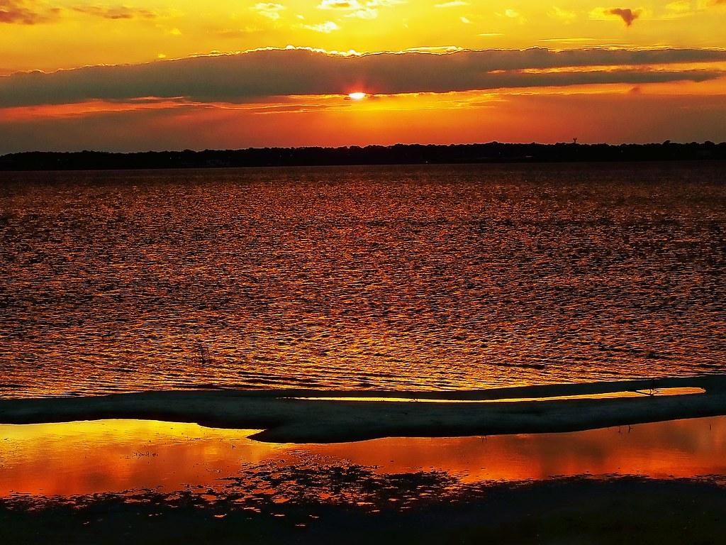 Another Sunset Shot From Lake Jackson 2012 Sebring Fl