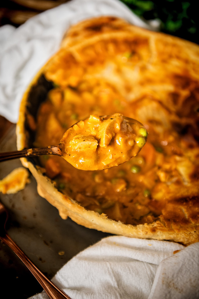 Curried Turkey Pot Pie