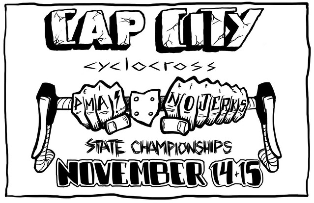 matt lolli cap city cyclocross illustration