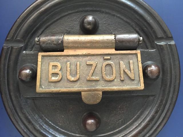Buzón de correos del Museo Postal y Telegráfico