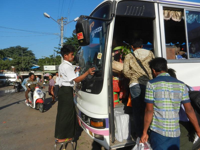 Мандалай,автобус