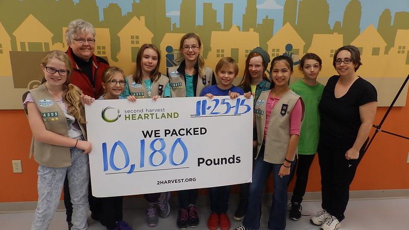 Richfield Girl Scouts 11-25-15