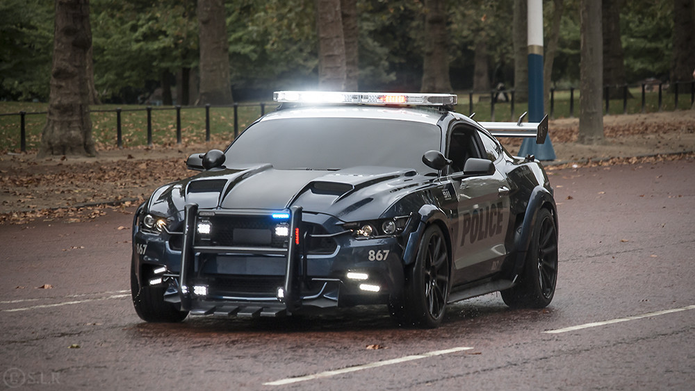barricade 2016 ford mustang police car transformers fi flickr. Black Bedroom Furniture Sets. Home Design Ideas