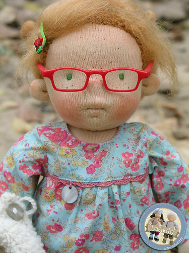 Jenny - waldorf inspired cloth doll/ 14 inch