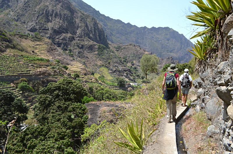Walking to Casa das Ilhas, Santo Antao, Cape Verde