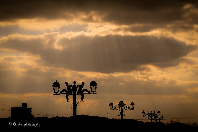薄明光線~crepuscular rays