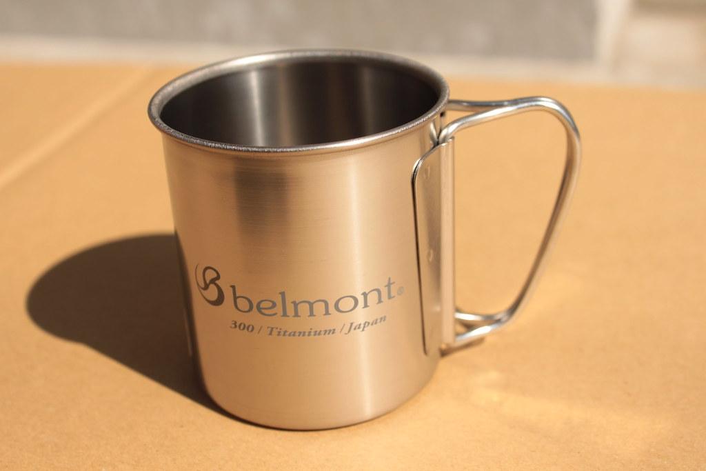 ベルモントーbelmont チタンシングルマグ300フォールディングハンドルlogo