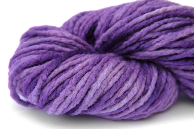 Sustainable Ultrafine Merino Chunky 'Purple Haze'