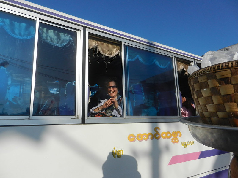 Автобус Мандалай-Моньва