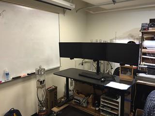 J. Visits the Portland State Aerospace Society