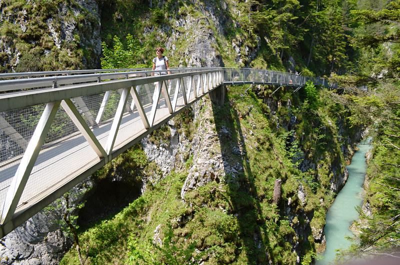 Walkways, Gaisterklamm, Leutasch, Austria