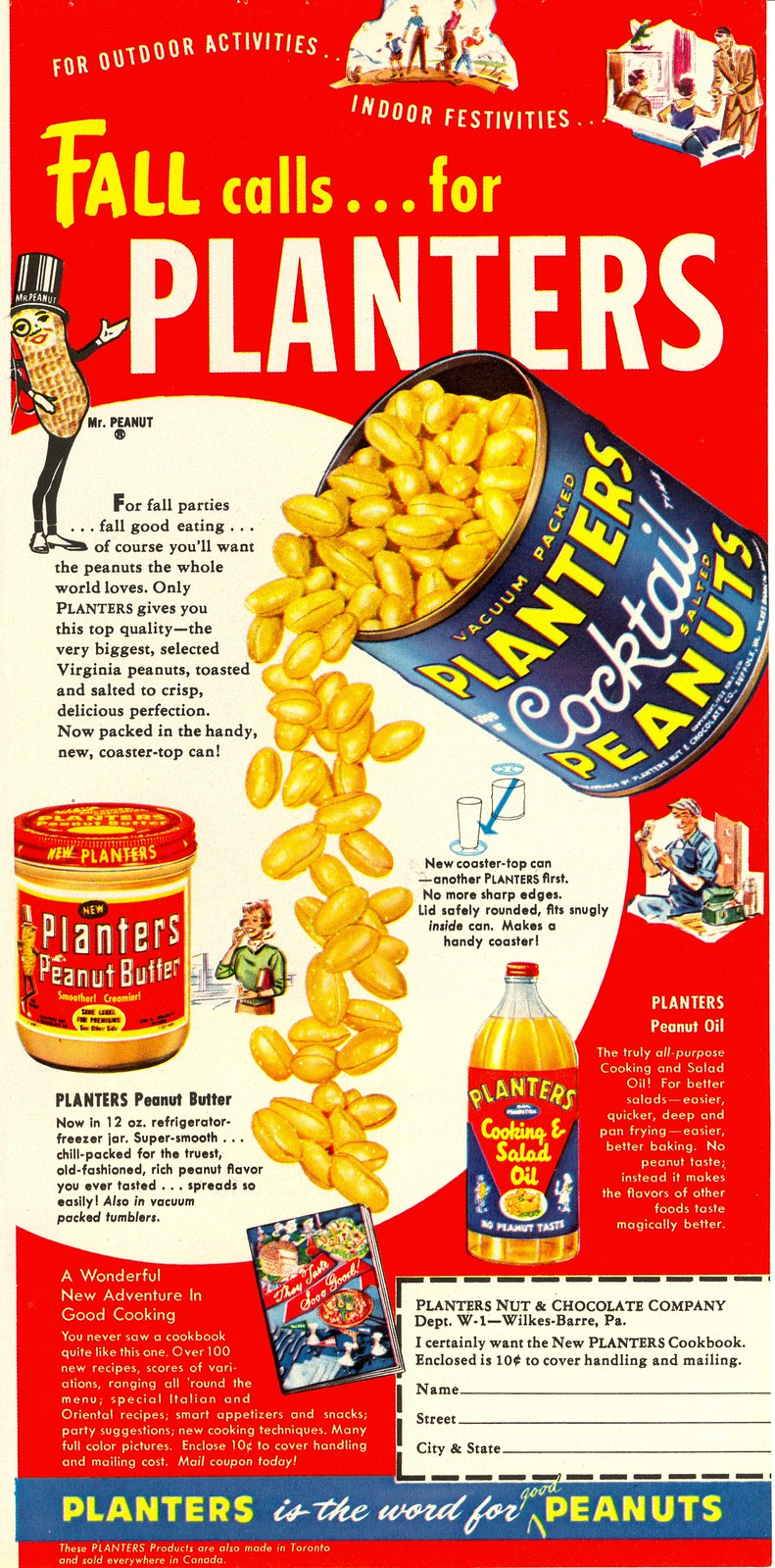 Planters - published in Woman's Day - October 1955