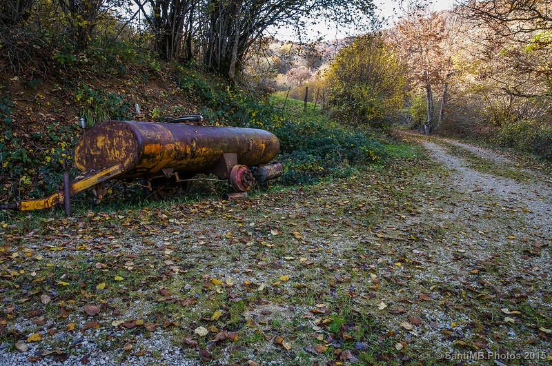 La cisterna abandonada