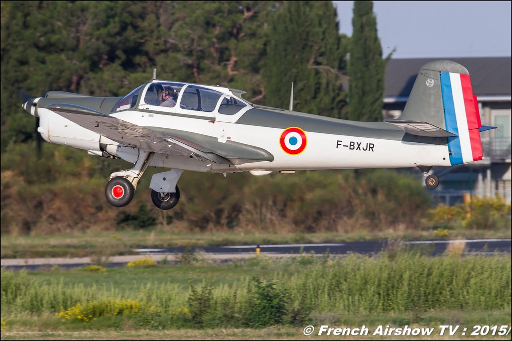 Morane-Saulnier MS-733 Alcyon,F-BXJR, Feria de l'air nimes garons 2016, Meeting Aerien 2015