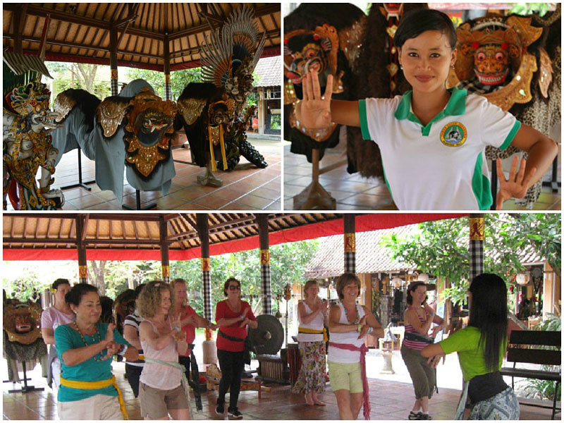 11.Learn Balinese Dance collage