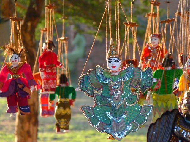 Marioneta de Myanmar (Birmania)