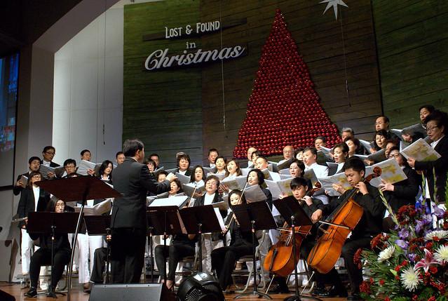 12월13일 주일예배 성가대