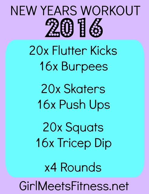 New Year Workout - girlmeetsfitness.net