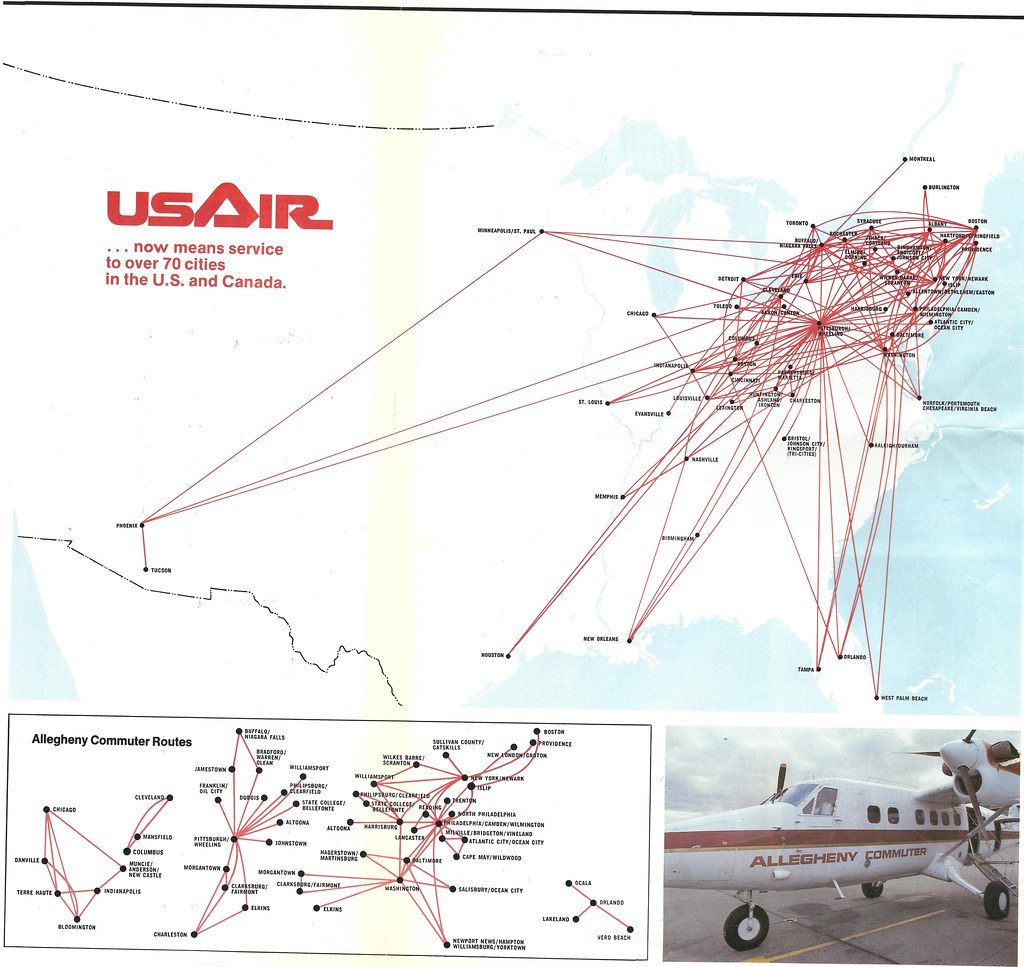US Airways Reviews Routes Schedules Analysis Opinions Usair