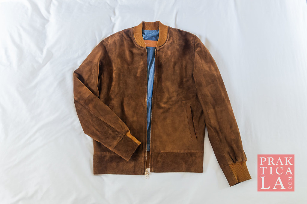 beckett simonon suede bomber jacket review