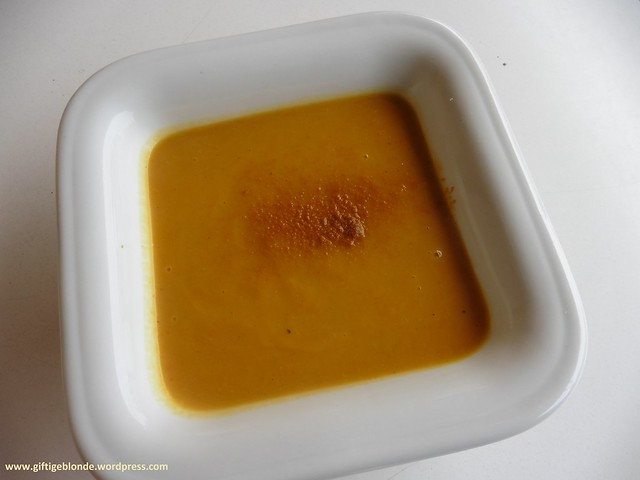 Kürbis Curry Suppe