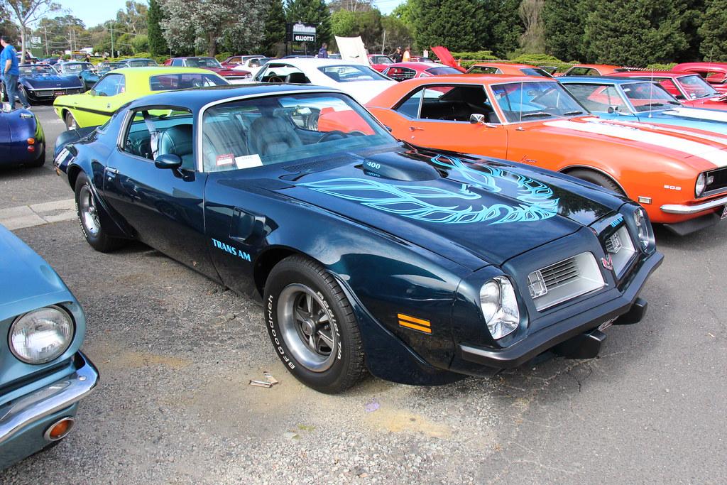 1975 Pontiac Firebird Transam 400 Coupe Bimini Blue Gm