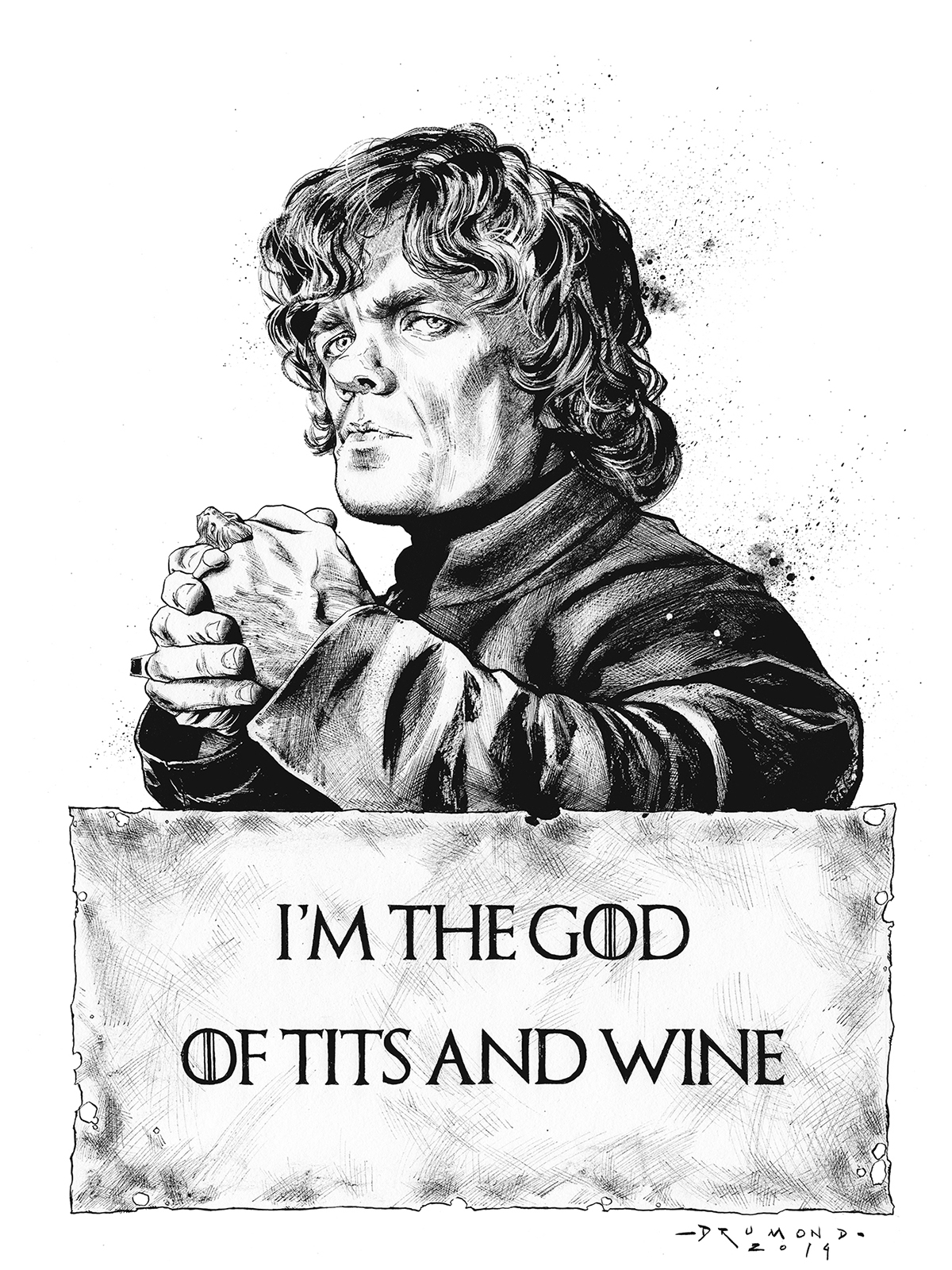 Game of Thrones by Drumond Art - Tyrion Lannister