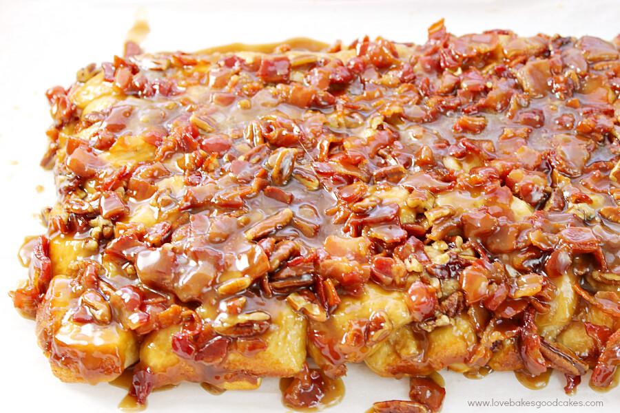 Oh my gosh - this Maple Bacon Monkey Bread is AMAZING!!! I ...
