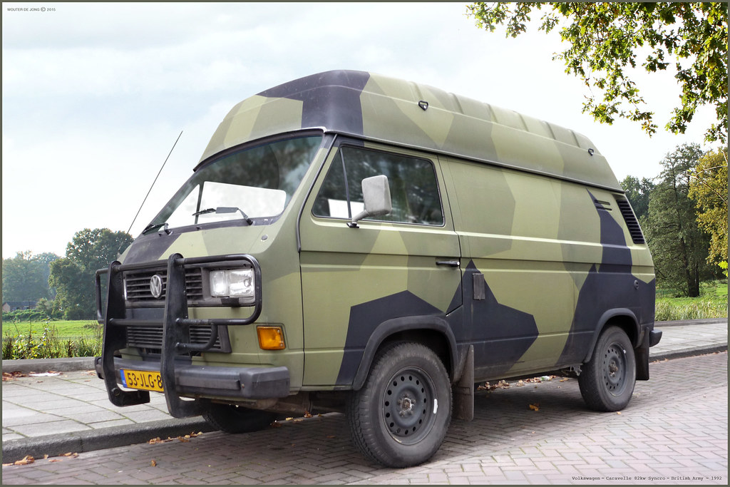 Volkswagen T25 T3 Syncro Ex Swedish Army 1992 Former