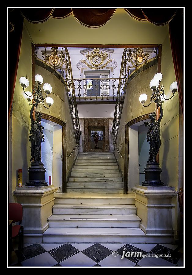 Escalera imperial del casino de cartagena en la reforma - Reformas en cartagena ...
