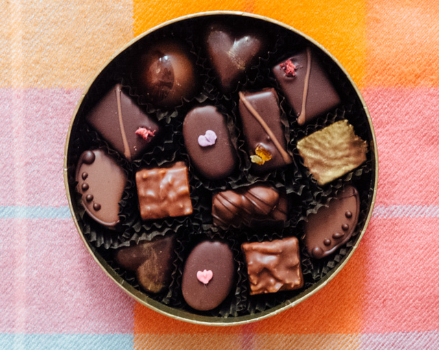 bettys chocolate selection