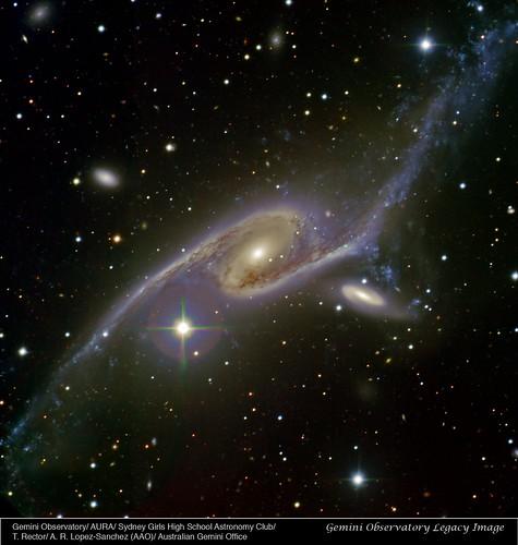 VCSE - Mai kép - NGC 6872 az Óriás galaxis